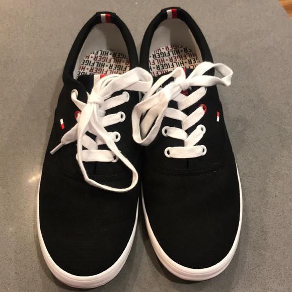 Tommy Hilfiger Mens Canvas Shoes